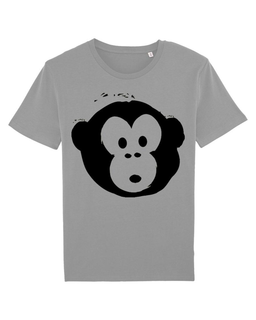 T-shirt Monkey Men Opal