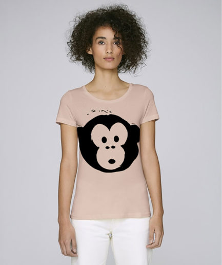 T-shirt Monkey Loves Nude
