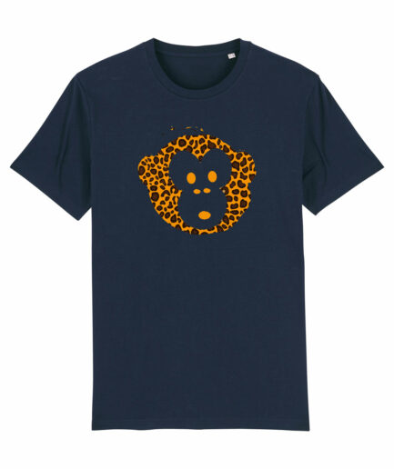 T-shirt Monkey Men Navy