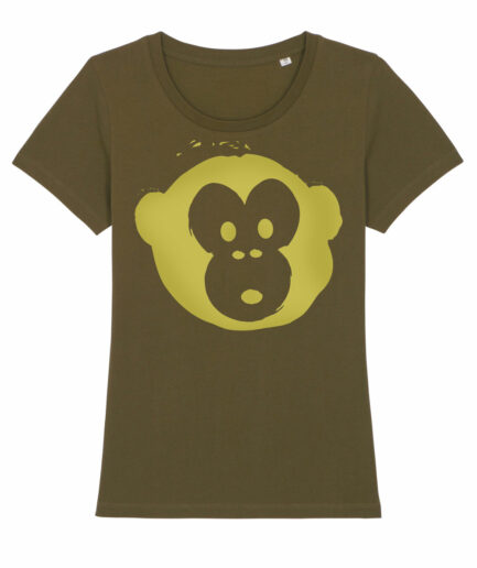 T-shirt Monkey Loves Khaki