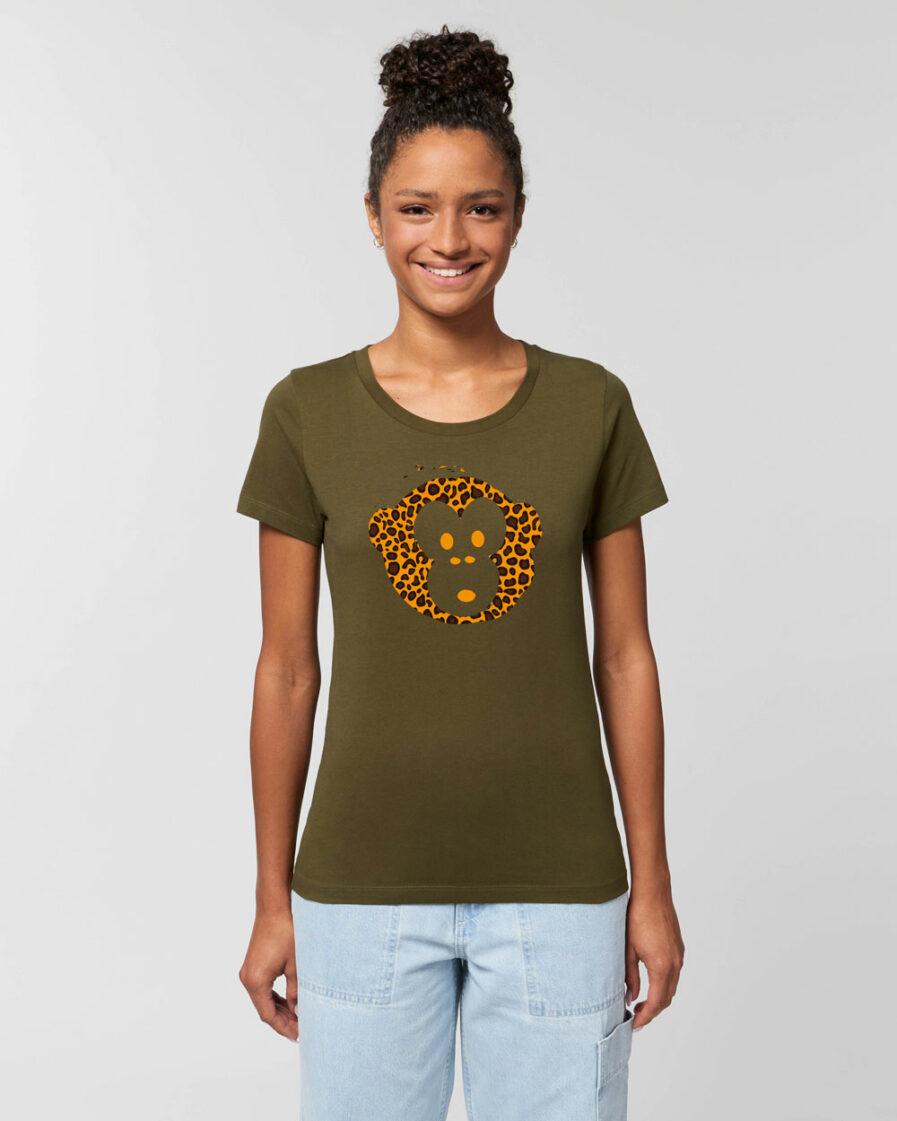 T-shirt Monkey Loves Khaki