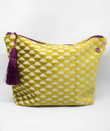 Monkey Tasche Honeycombs Lime