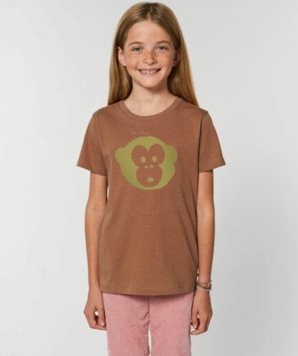 Mini Monkey T-shirt Caramel