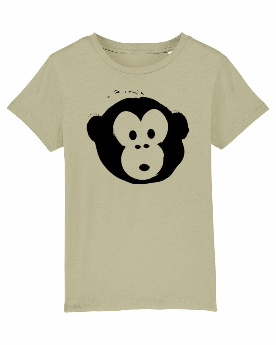 Mini Monkey T-shirt Sage