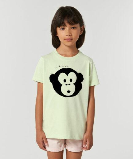Mini Monkey T-shirt Stem Green