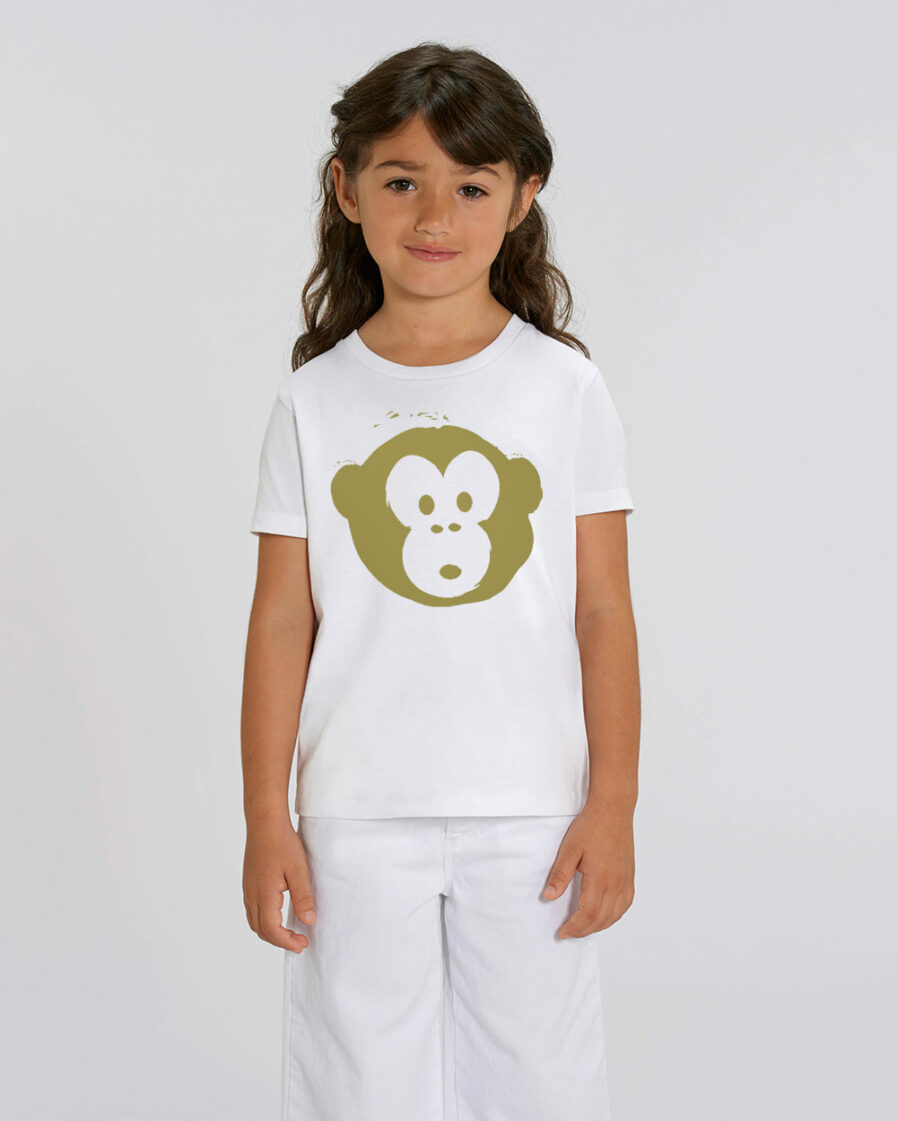 Mini Monkey White